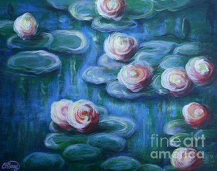 Blue Tranqulity by Christine Cullen-Reed