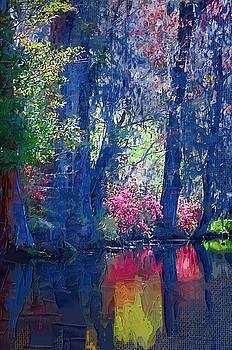 DONNA BENTLEY - Blue Trees