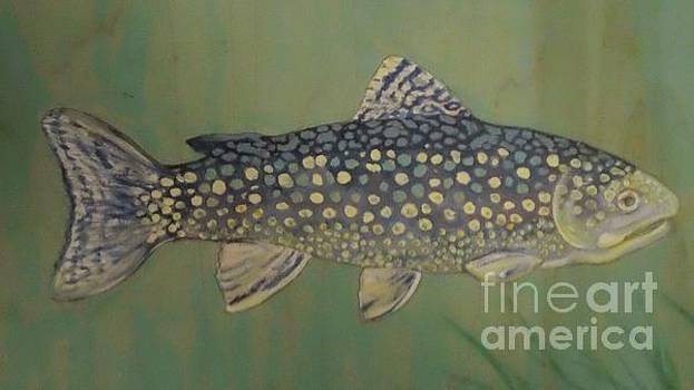 Blue trout by Maria Elena Gonzalez