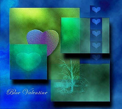 Blue Valentine by Carola Ann-Margret Forsberg