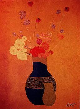 Blue Vase by Bill OConnor
