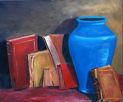 Blue Vase by Brian Hustead