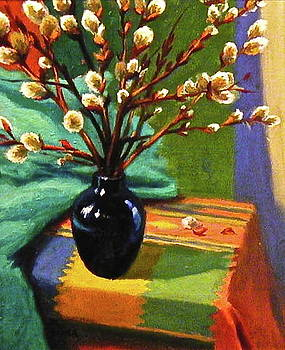 Blue Vase by Lydia Martin