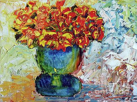 Blue Vase by Lynda Cookson