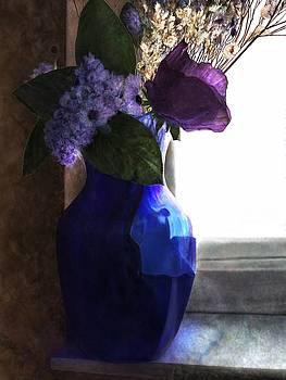 Blue Vase by Mary Eichert