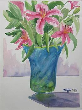 Blue Vase by Monique Montney