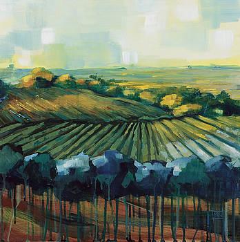 Blue Vineyard by Michele Norris