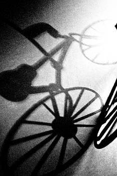 Black and White Bicycle by Ioana Todor