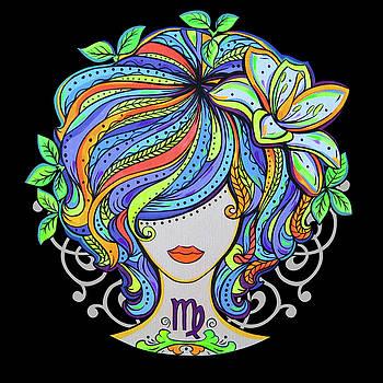 Image result for virgo Zodiac by Olga Lomanova
