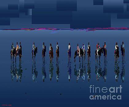 Blue Vision Plain by Hilton McLaurin