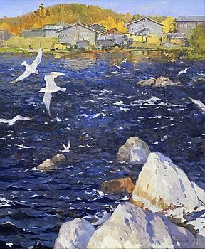 Blue Water by Anna Ankudinova