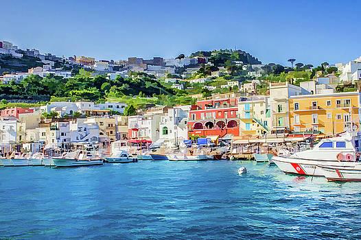 Lisa Lemmons-Powers - Blue Water in Capri