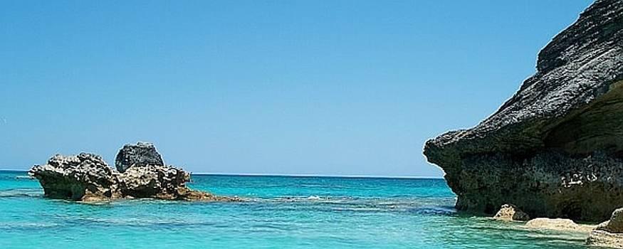 Blue Water of Bermuda by Polly Rickman
