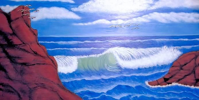 Blue Waters by Anke Wheeler