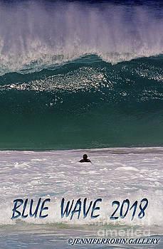 Blue Wave 2018 by Jennifer Robin