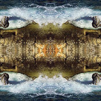 Jonny Jelinek - Blue Waves and Ancient Rocks I