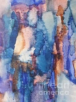 Blue way I by Ingela Lindgren