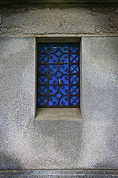 Blue Window by Bud Simpson