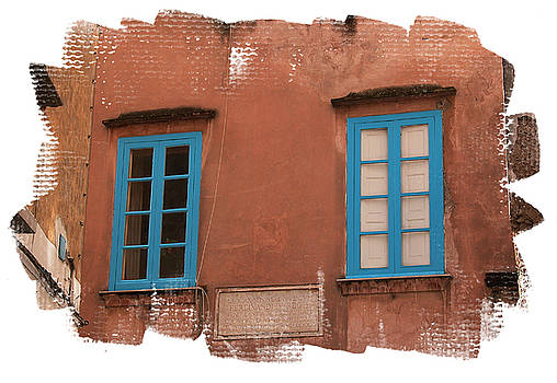 Blue windows by Jim Wright