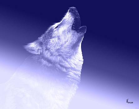 Blue Wolf by Will Logan