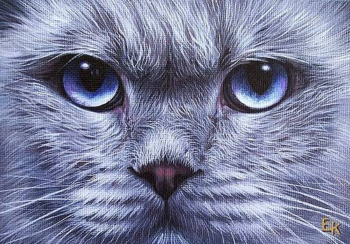 Blue by Elena Kolotusha