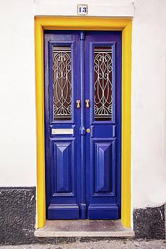 Blue Yellow Door by David Letts