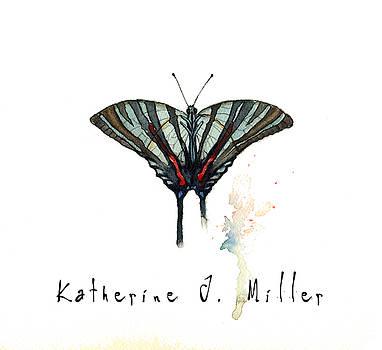 Blue Zebra by Katherine Miller