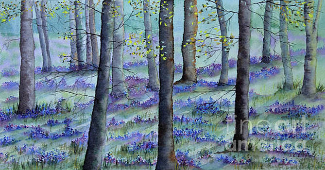 Bluebell Wood by Jackie Kirby