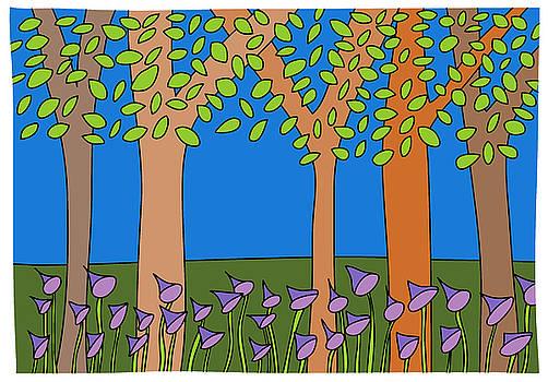 Bluebell woods by Nicholas Brockbank