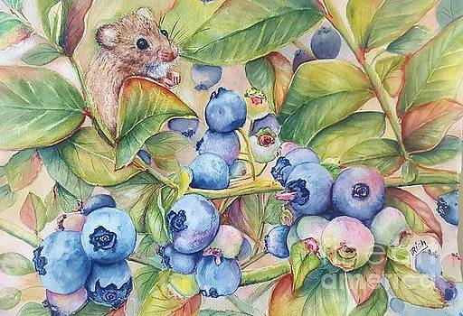 Blueberries by Patricia Pushaw