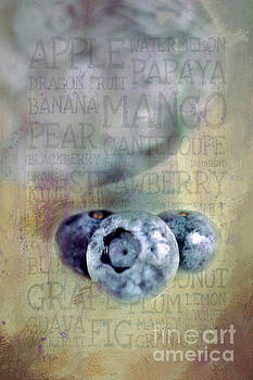 Blueberry Art by Darren Fisher