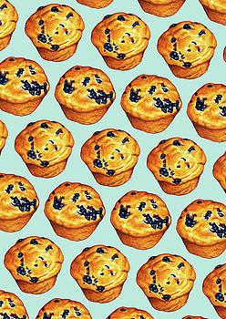 Blueberry Muffin Pattern by Kelly Gilleran