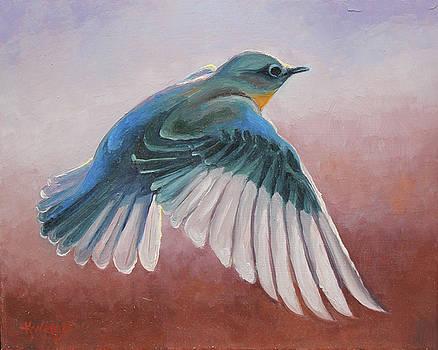 Bluebird #1 by Katy Widger