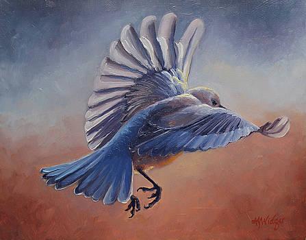 Bluebird #2 by Katy Widger