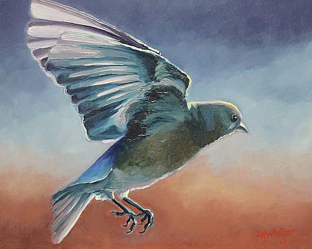 Bluebird #3 by Katy Widger