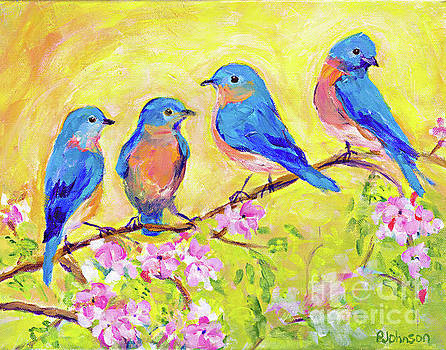 Bluebird Branch by Peggy Johnson by Peggy Johnson