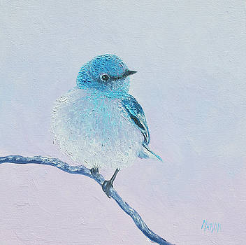 Jan Matson - Bluebird painting