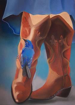 Bluebird Surprise by Marika Evanson