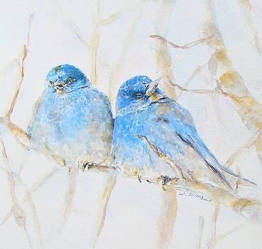 Bluebirds by Deborah Carman
