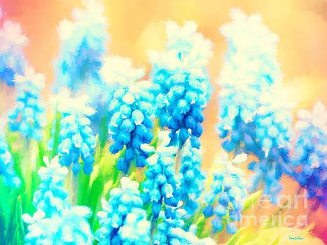 Blue Hyacinth Dream by Tina LeCour