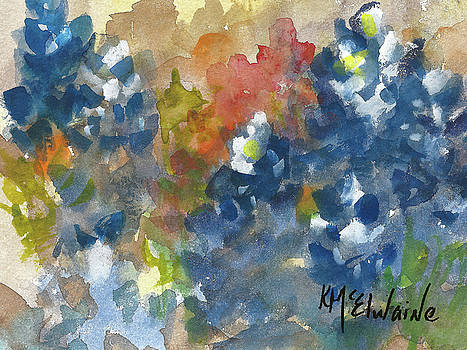 Bluebonnet Spring by Kathleen McElwaine