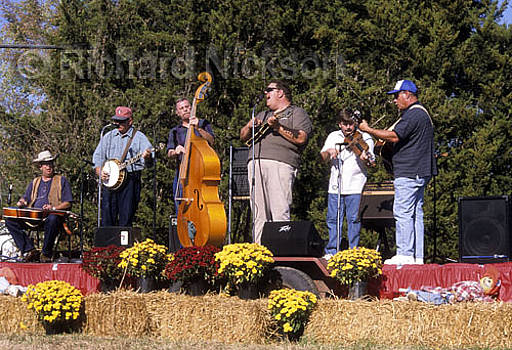 Bluegrass Band by Richard Nickson