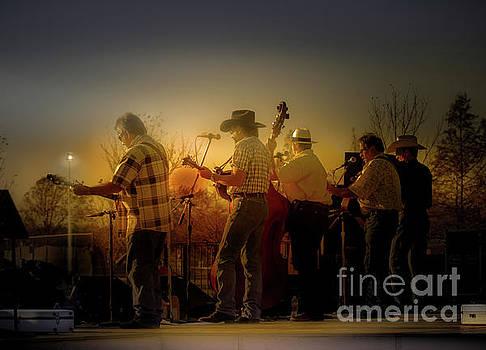 Bluegrass Evening - Backstage by Robert Frederick