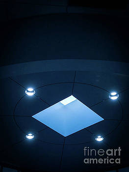 Blueish Ceiling by Fei A