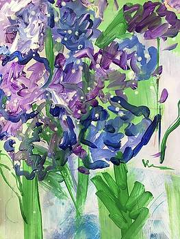 Blues and Purple by Mary Gallagher-Stout