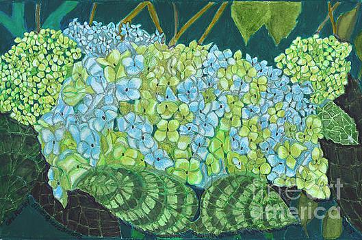 Blues Greens Browns by Cora Morley Eklund