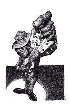 Blues Guitar by Tobey Anderson