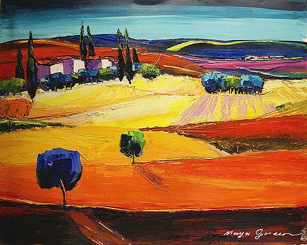 Blues  by Maya Green