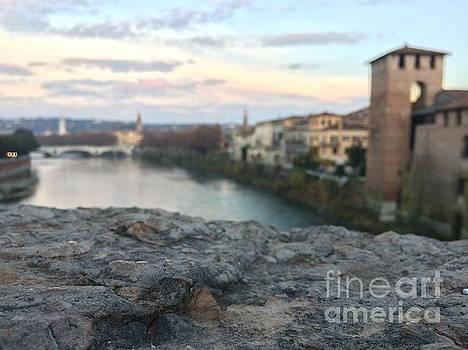 Blurred Verona by Donato Iannuzzi