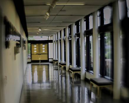 Blurry Hall by Philip A Swiderski Jr